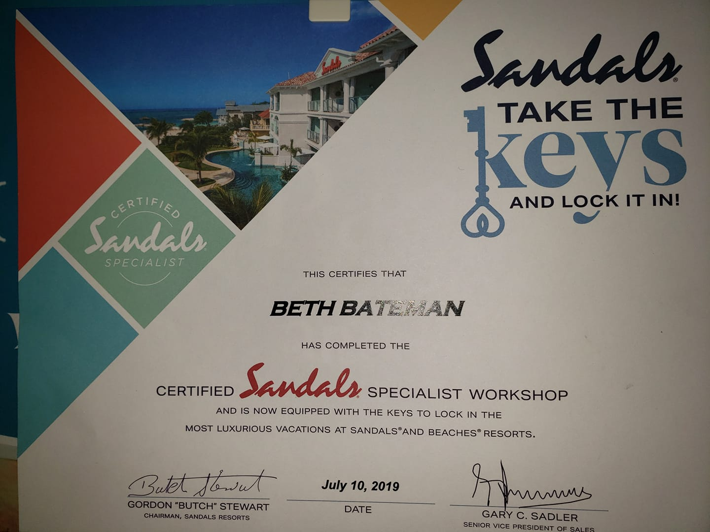 Pick & Pack is a certified Sandals Specialist! Book your Sandals getaway wit…