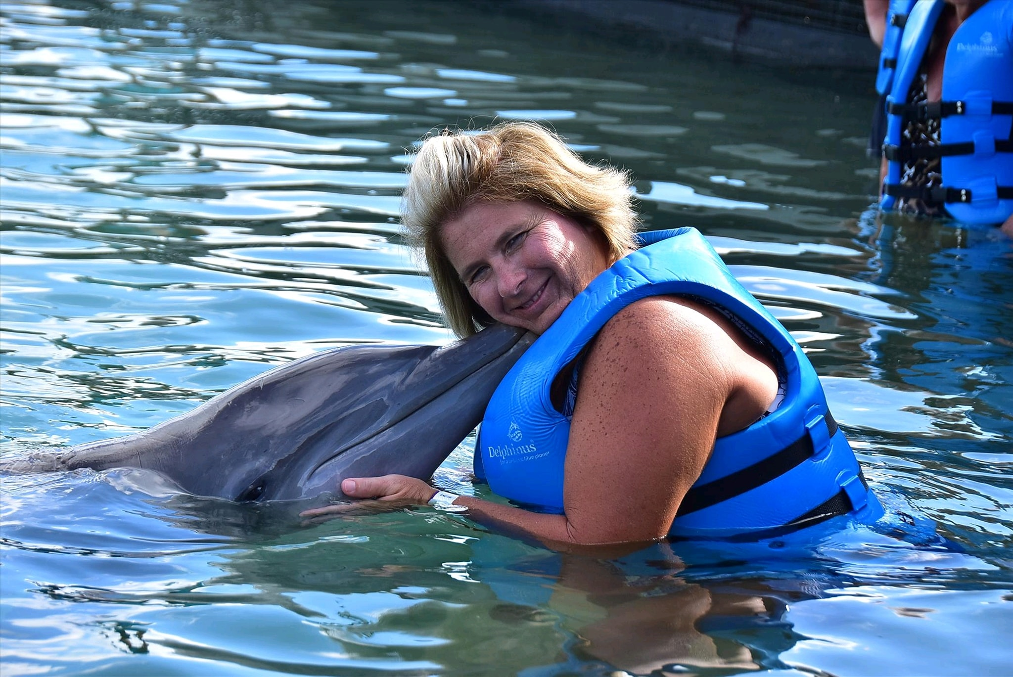 Pick and pack travel swam with the dolphins. It was truly amazing