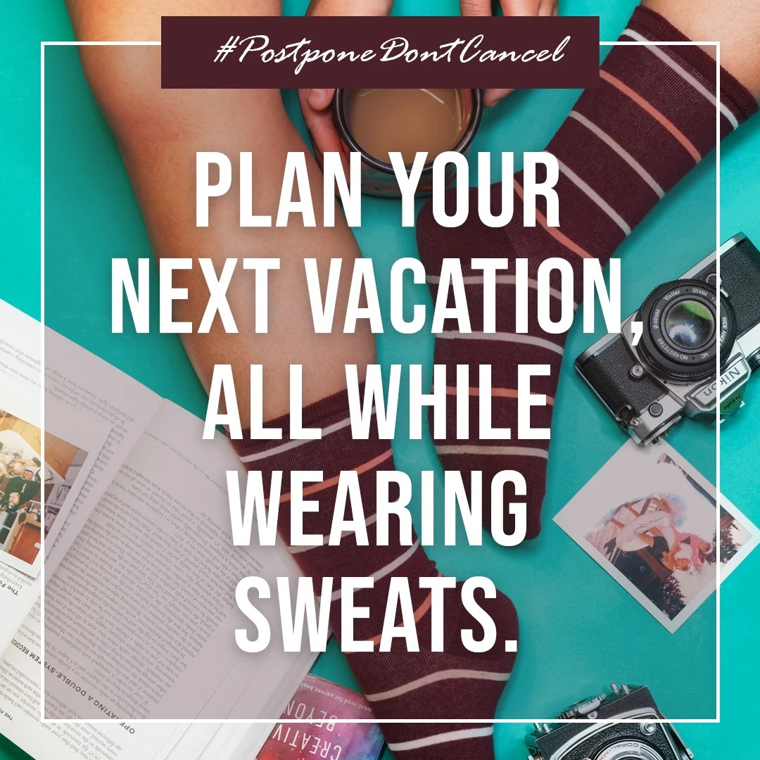 Plenty of time to think of your next vacation!